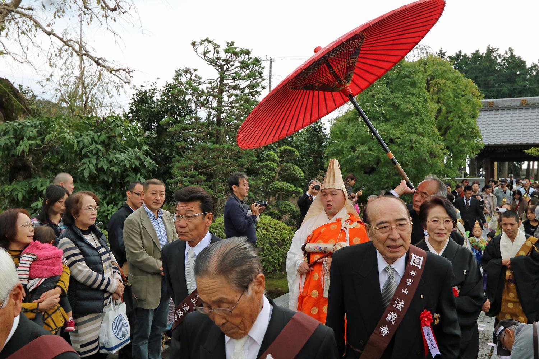 富士市法蔵寺 入寺奉告式