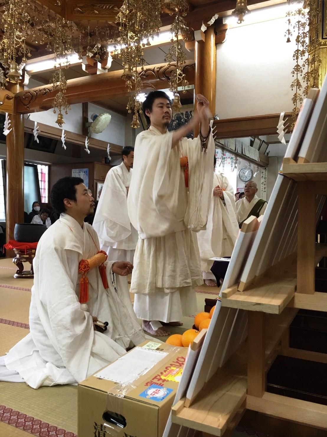 静岡市清水区瑞泉寺 帰山奉告式