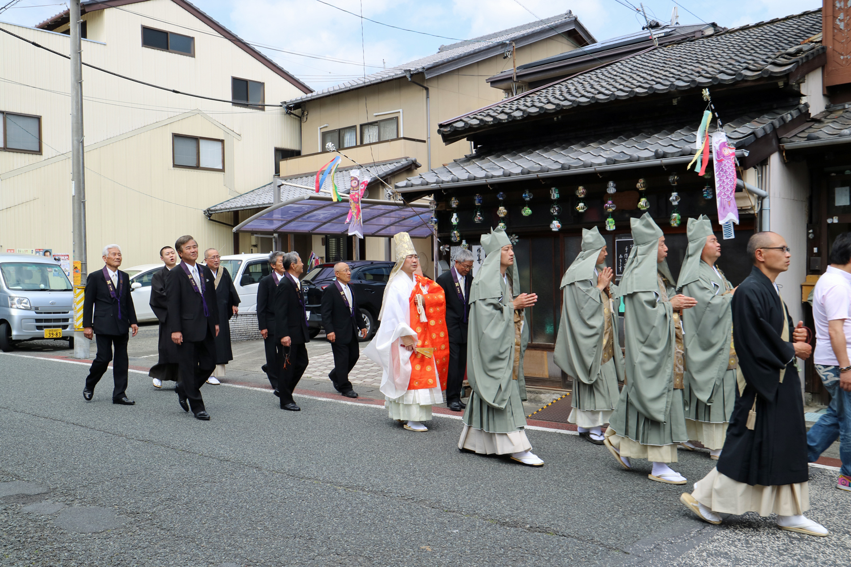 静岡市清水区正法寺 入退寺式