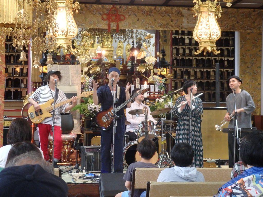 妙祥寺で第11回寺音祭開催